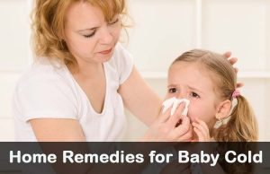 Home remedies for baby cold