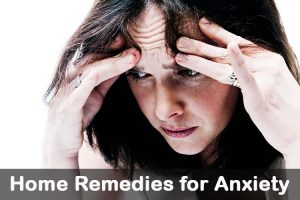 Home Remedy for Anxiety