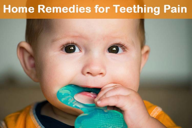 14 Diy Home Remedies For Teething Pain