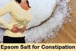 Epsom Salt for Constipation