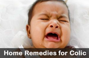 Home Remedy for Baby Colic
