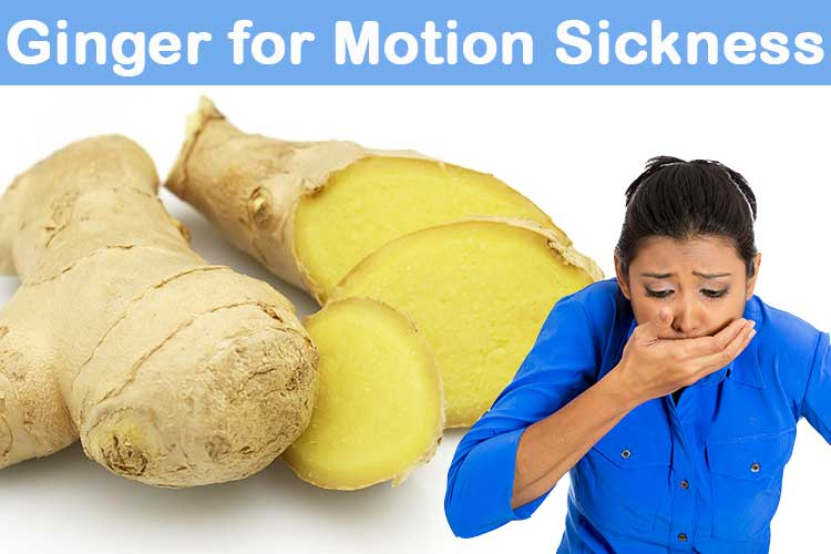 Natural Remedies For Motion Sickness Nausea