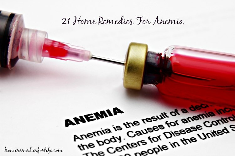Home Remedies for Anemia