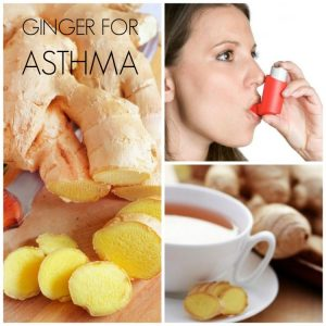 ginger for asthma