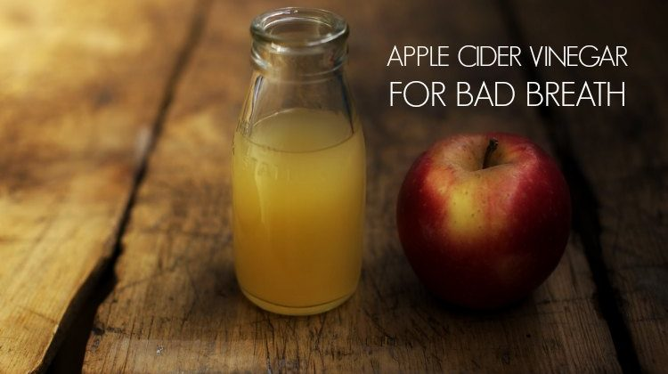 How to Treat Bad Breath With Apple Cider Vinegar