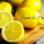 lemon for pimples