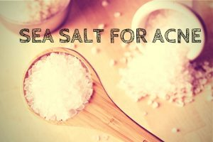 sea salt for acne