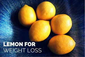 Lemons for weight loss