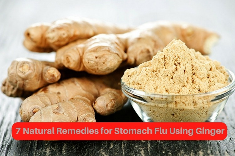 Ginger For Stomach Flu
