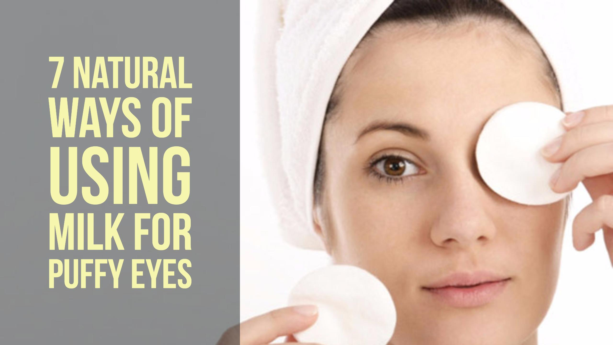 Natural Ways Bags Under Eyes