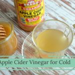 Apple Cider Vinegar For Cold