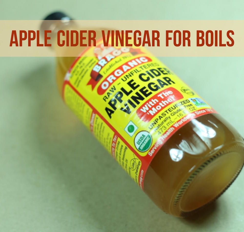 How To Use Apple Cider Vinegar For Boils?