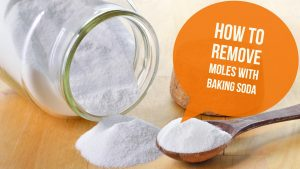 Baking Soda For Moles