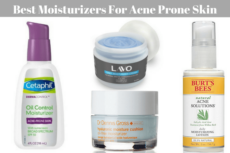 Best Natural Face Moisturizer For Acne Prone Skin