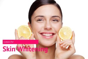 Medicinal importance of lemon for facial treatment