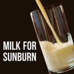 Milk For Sunburn