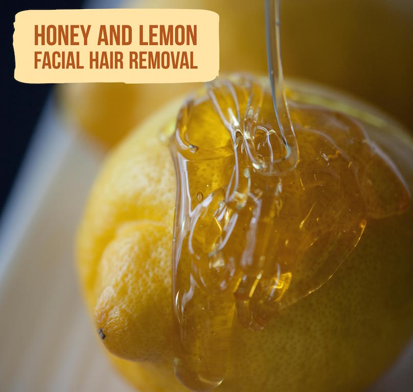 Honey And Lemon For Facial Hair Removal