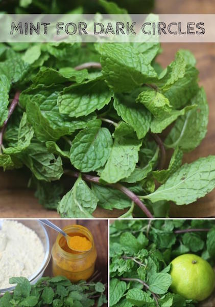 Mint For Dark Circles