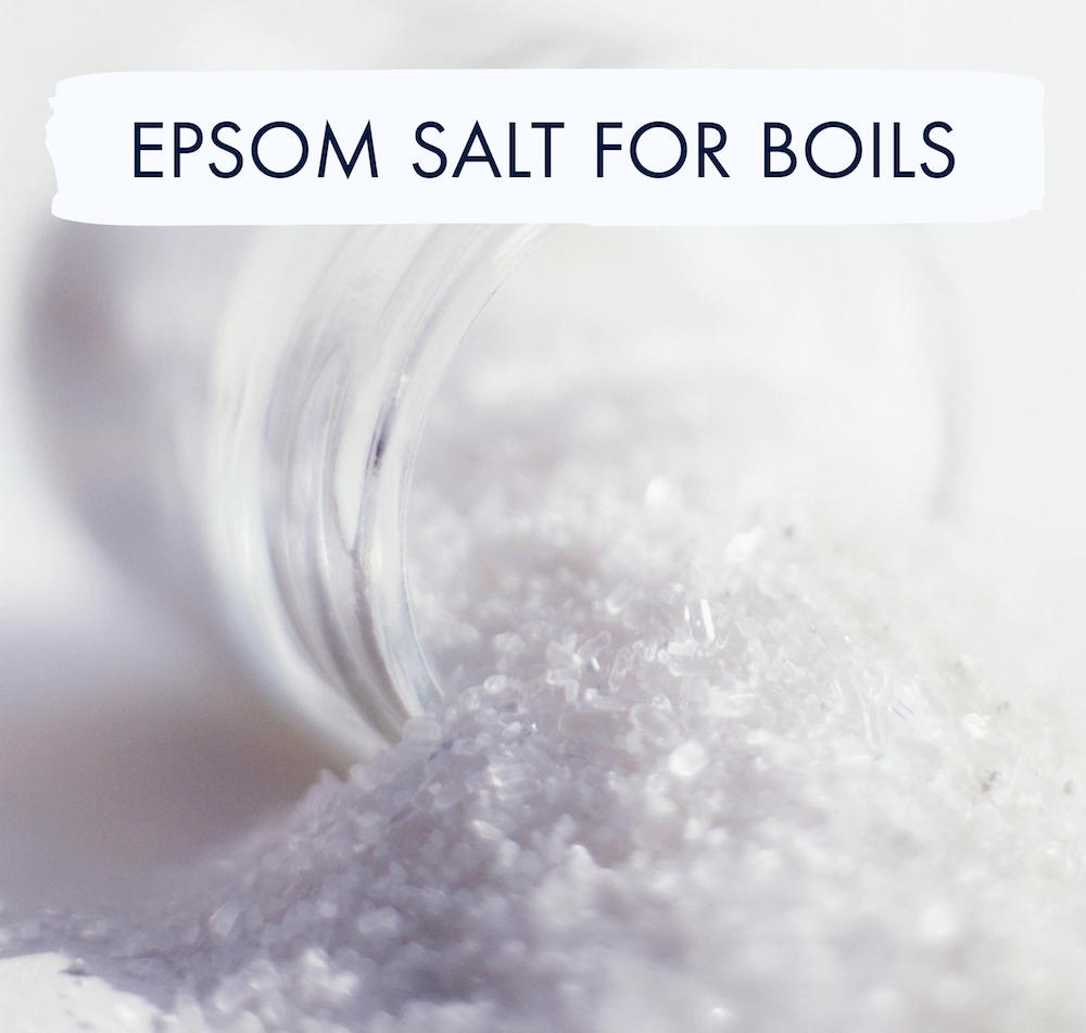 Epsom Salt For Boils