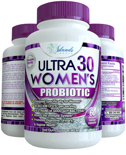 Island's Miracle Ultra 30 Women's Probiotic