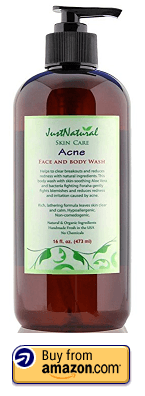 JustNaturals Acne Body Wash