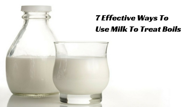 How to Use Milk for Treating Boils