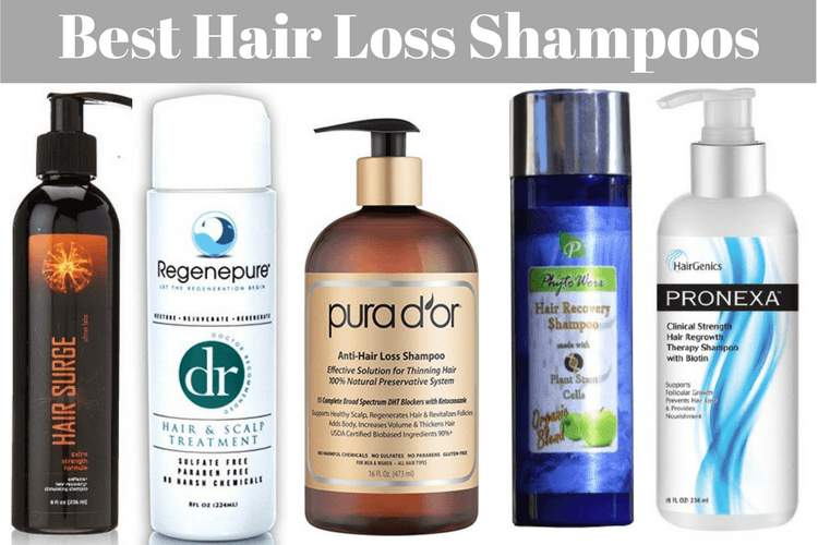 Shampoo for hair loss reviews