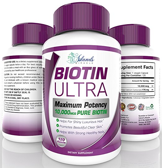 Island's Pure Biotin Supplements