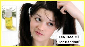 How To Use Tea Tree Oil TO Get Rid Of Dandruff
