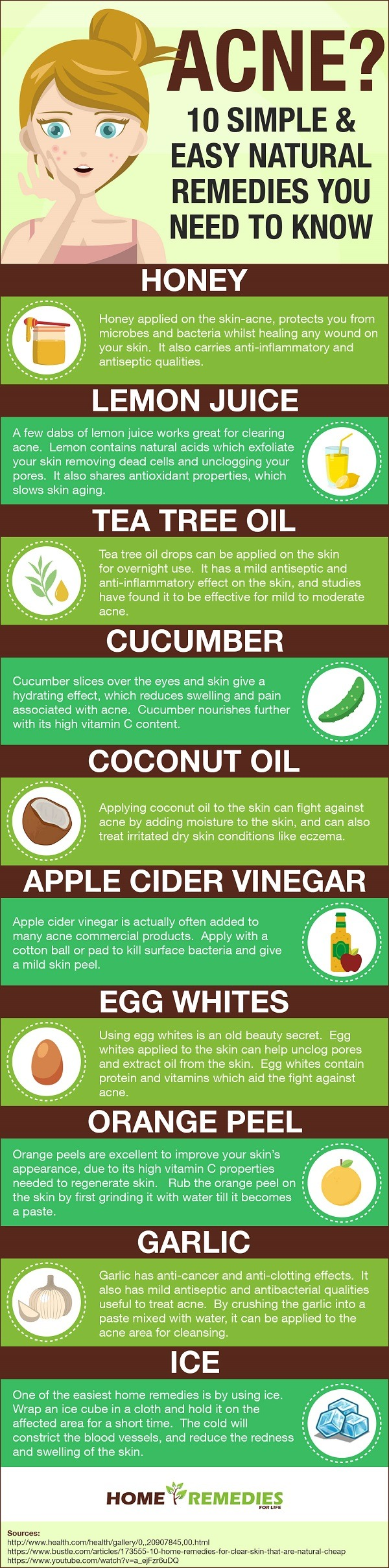 Acne 10 simple easy natural treatment remedies remedy