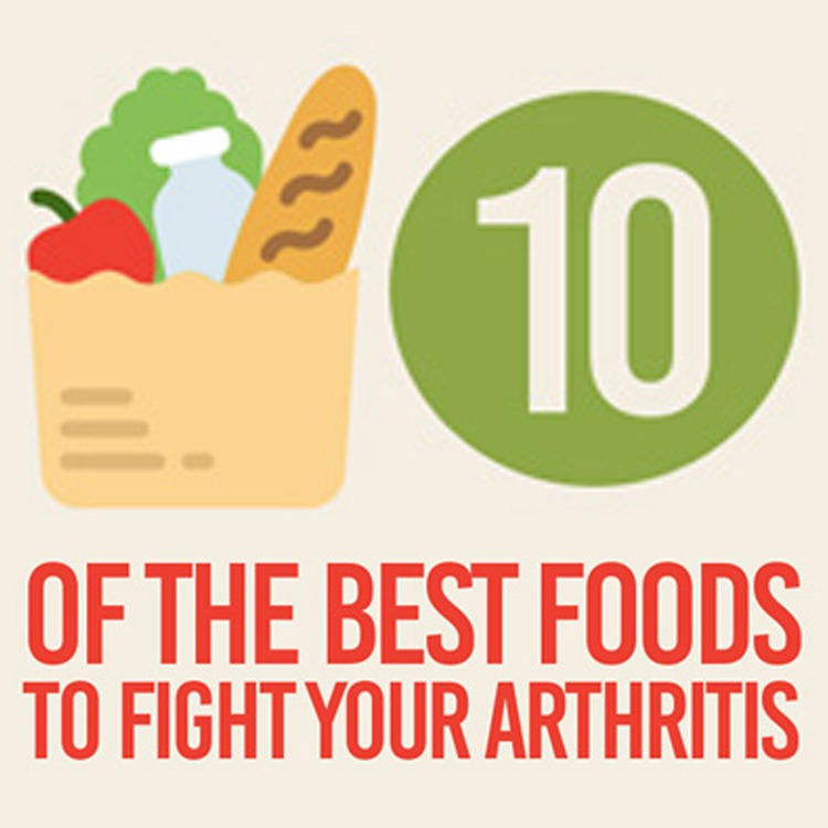 10 Fight 10: 10 Of The Best Foods To Fight Your Arthritis