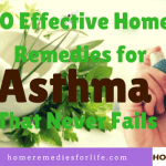 10 Effective Home Remedies for Asthma