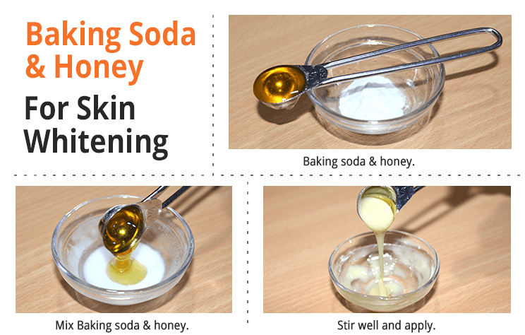 baking soda and honey remedy